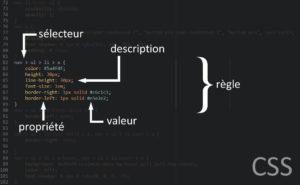 Règle, sélecteurs, description CSS