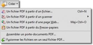 Créer du PDF