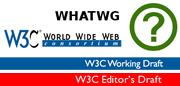 whatwg - w3c