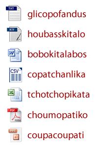 Référencement : formats de fichiers